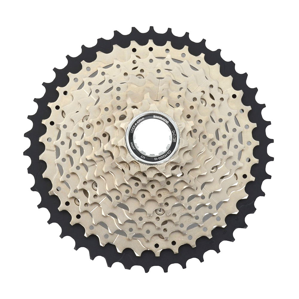 Shimano Deore HG500 10 Speed MTB Cassette - Silver - 11-42t, Silver