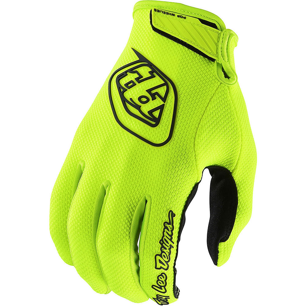 Image of Troy Lee Designs Air Glove - Yellow - M, Yellow