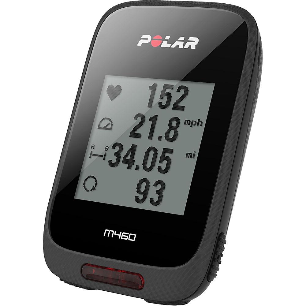 Polar M460 GPS Cycling Computer – Black, Black