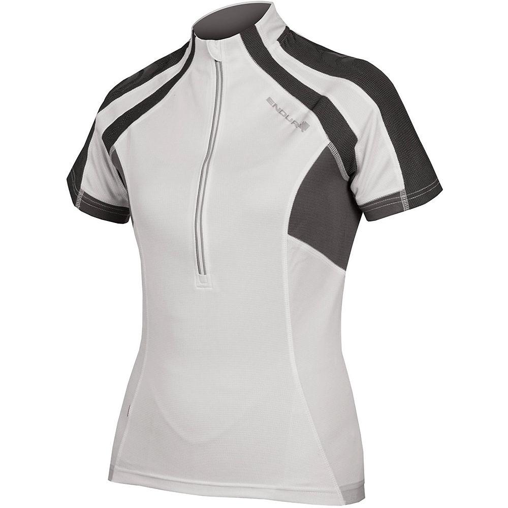 Endura Womens Short Sleeve Hummvee Jersey  - White - Xs  White