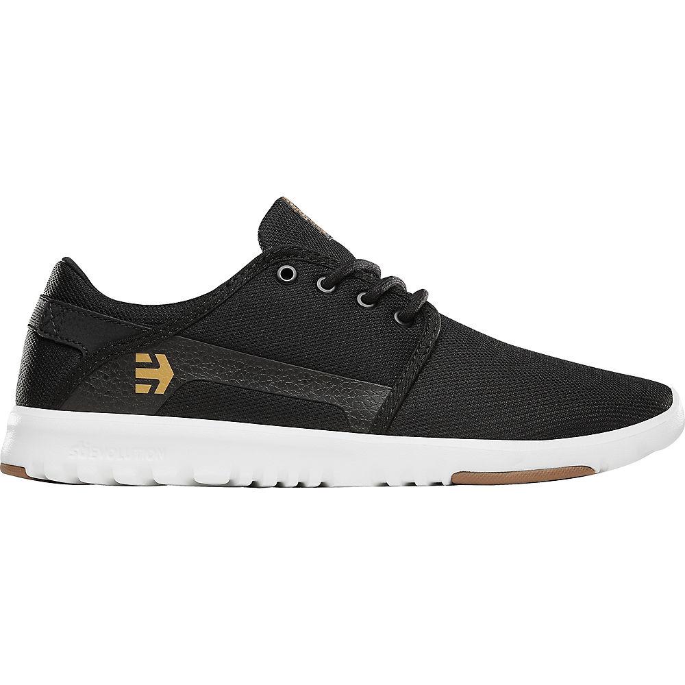 Etnies Scout Shoes - Black - White - Gum - UK 12, Black - White - Gum
