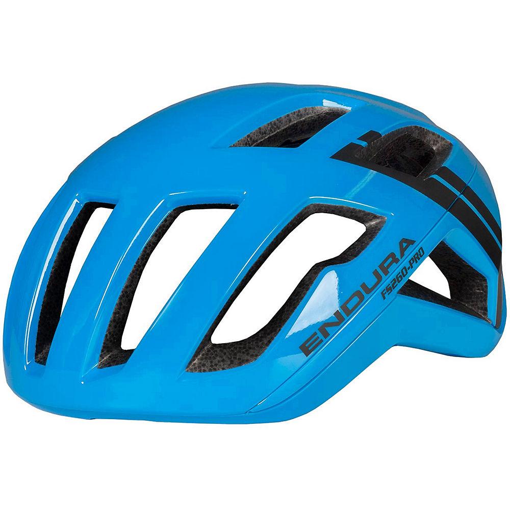 Endura FS260-Pro Helmet – Hi-Viz Blue – L/XL/XXL, Hi-Viz Blue