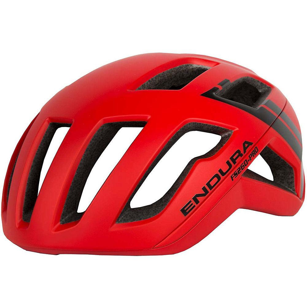 Endura FS260-Pro Helmet – Red – L/XL/XXL, Red
