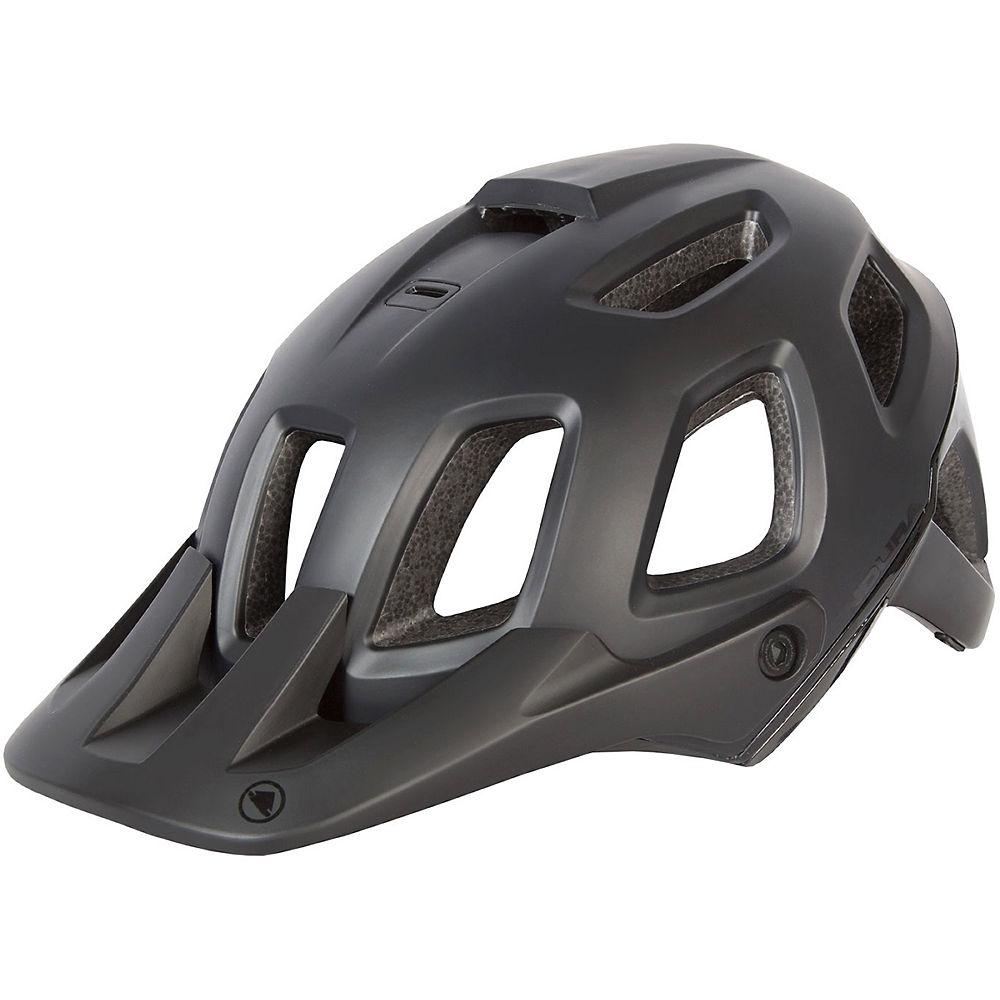 Image of Endura Single Track II MTB Helmet - Black / Large / XLarge