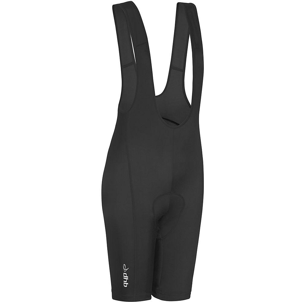 Dhb Womens Bib Shorts - Black-black - Uk 16  Black-black