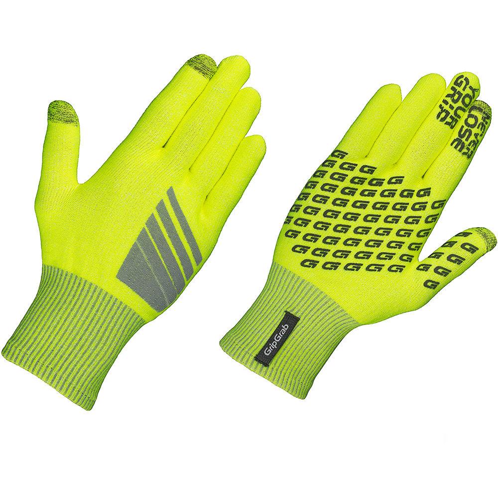 Gripgrab Primavera Hi-vis Midseason Glove - Fluo Yellow - Xs/s  Fluo Yellow