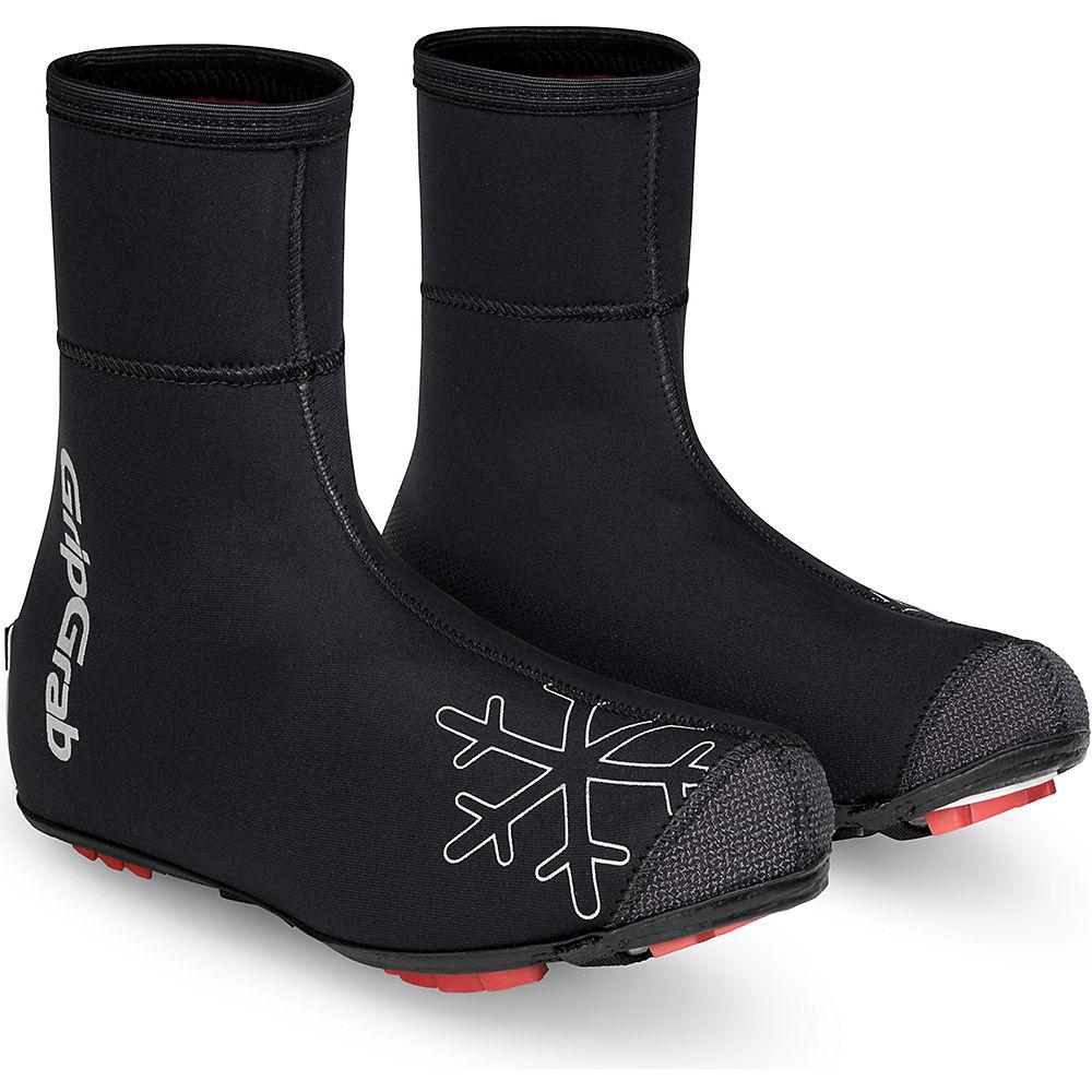 GripGrab Arctic X Waterproof MTB-CX Overshoes - Black, Black