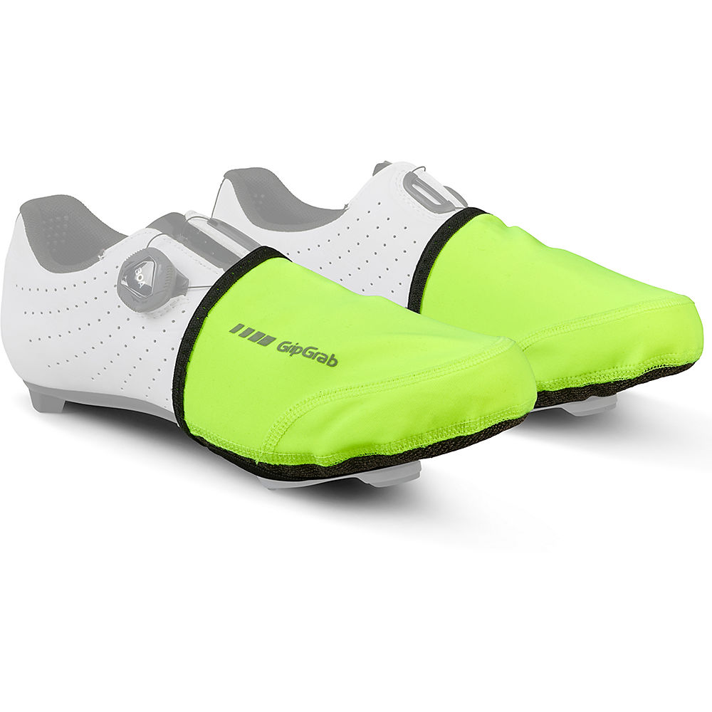 Gripgrab Windproof Hi-vis Toe Covers - Fluo Yellow - S/m  Fluo Yellow