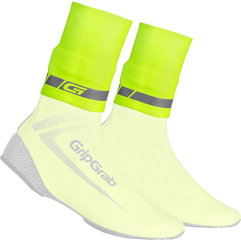 Gripgrab Hi Vis Cyclingaiter - Fluo Yellow - S/m  Fluo Yellow