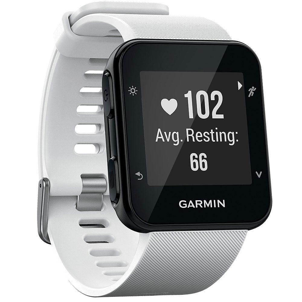 Garmin Forerunner 35 GPS Running Watch - White, White