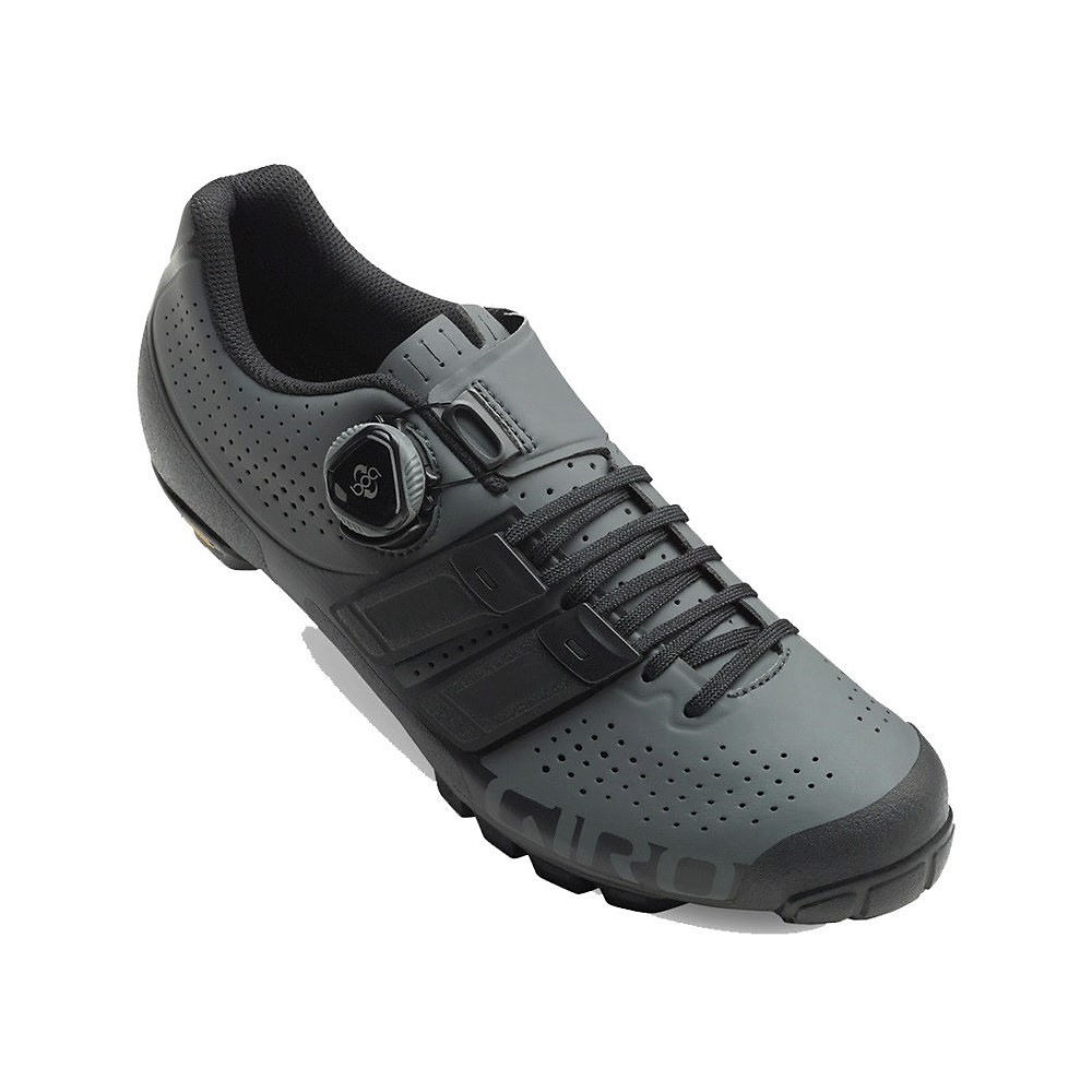 Giro Code Techlace Off Road Shoe - Dark Shadow-Black 19 - EU 48, Dark Shadow-Black 19