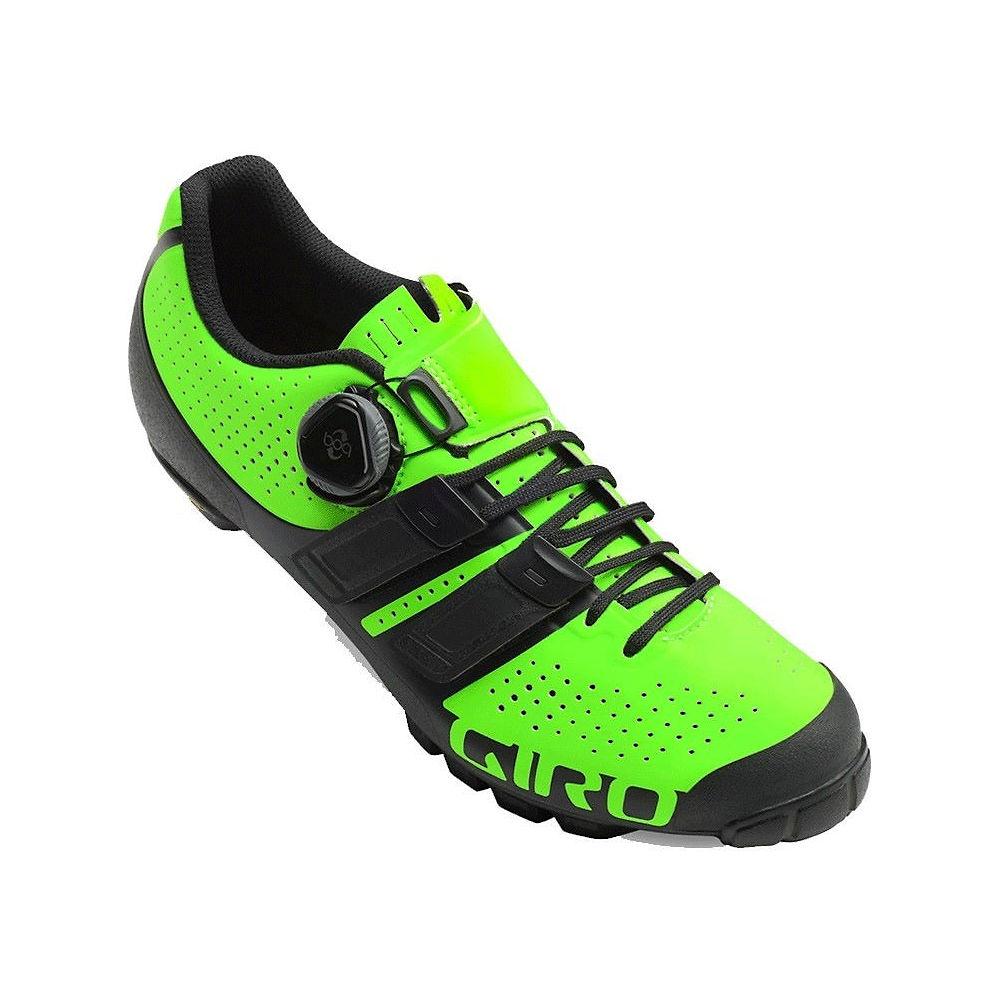 Giro Code Techlace Off Road Shoe - Lime-black 19 - Eu 45  Lime-black 19