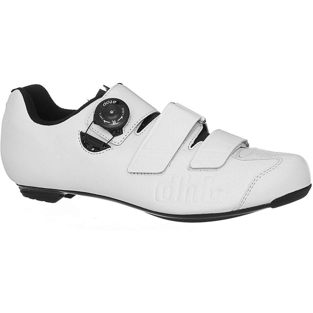 Dhb Aeron Carbon Road Shoe Dial - White - Eu 44  White