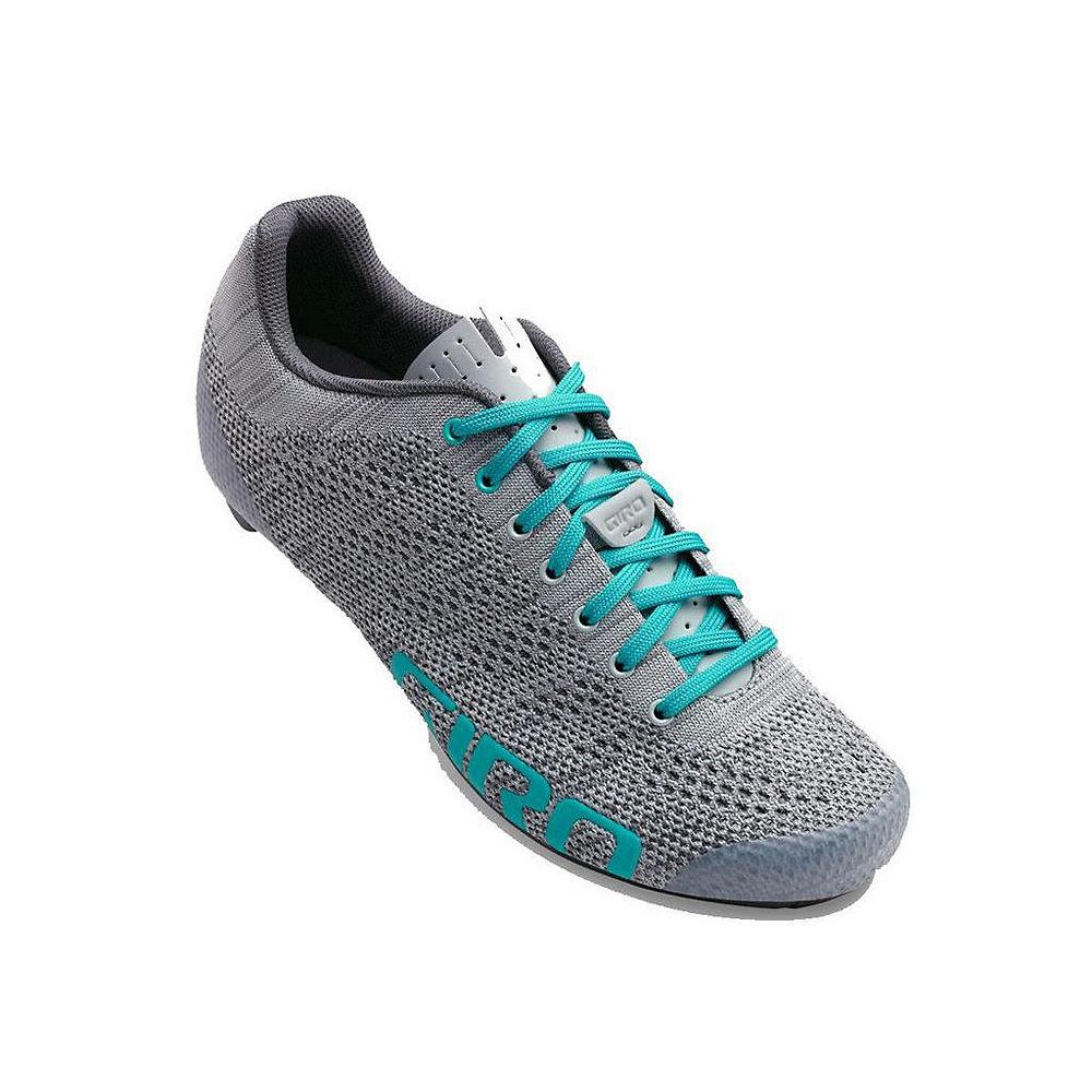 Giro Empire E70 Knit Womens Road Shoe - Grey-glacier 19 - Eu 39  Grey-glacier 19