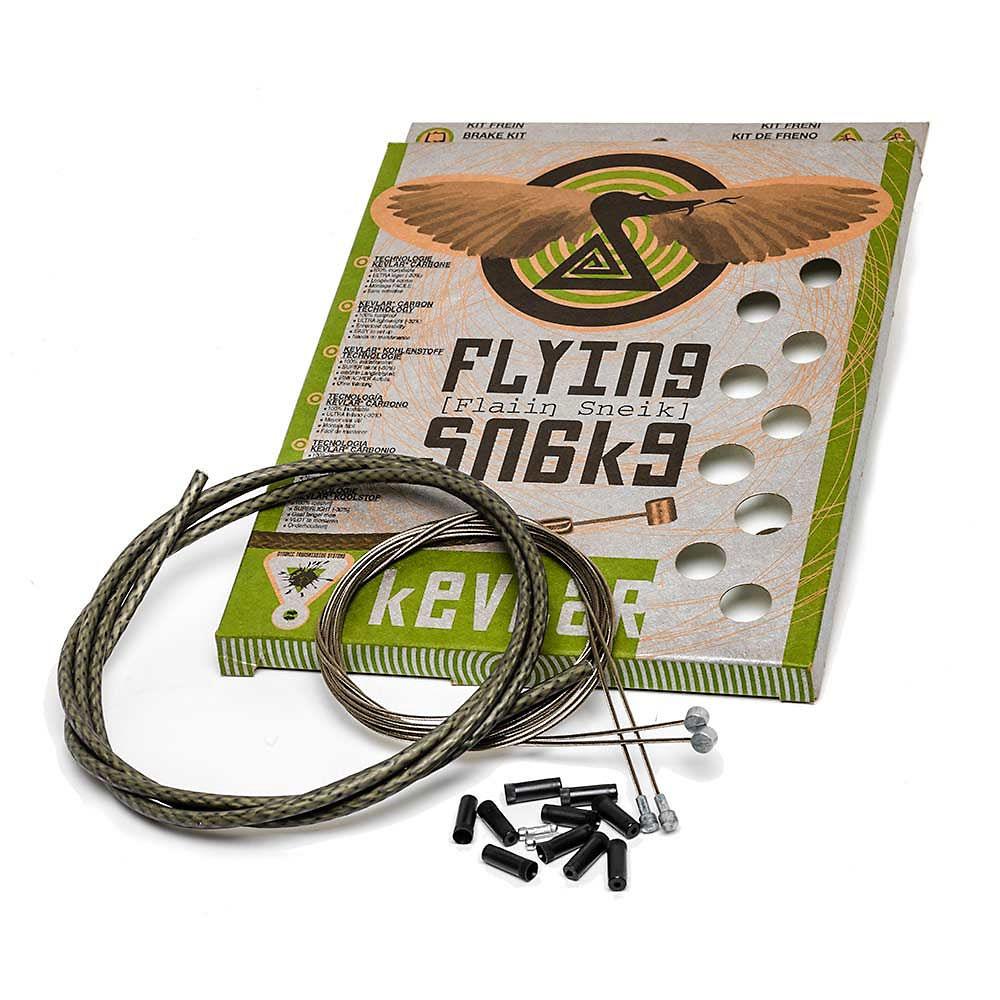 Image of Câble de frein Transfil Flying Snake - Noir - 2 x 2000mm Inner, 1 x 1800mm Outer, Noir