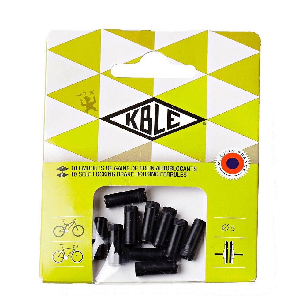 Image of Embouts droits Self-Locking Transfil (pack de 10) - Noir - 10 Pack, Noir