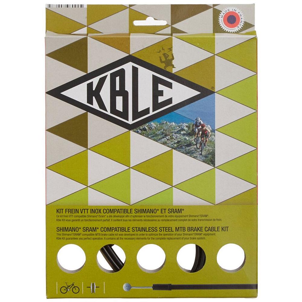 Image of Câble de frein Shimano K.ble Transfil - Noir - 1600mm, Noir
