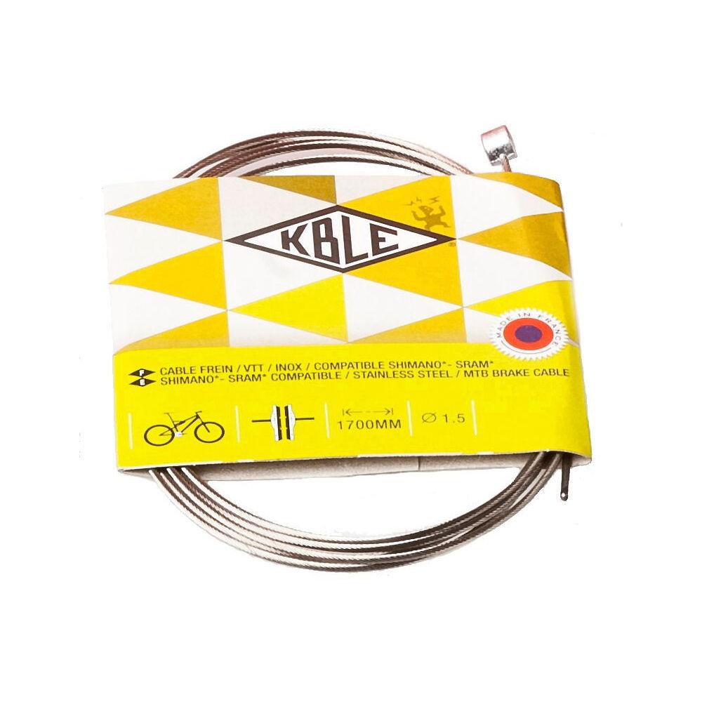 Image of Câble de frein VTT Shimano Transfil - Argent, Argent