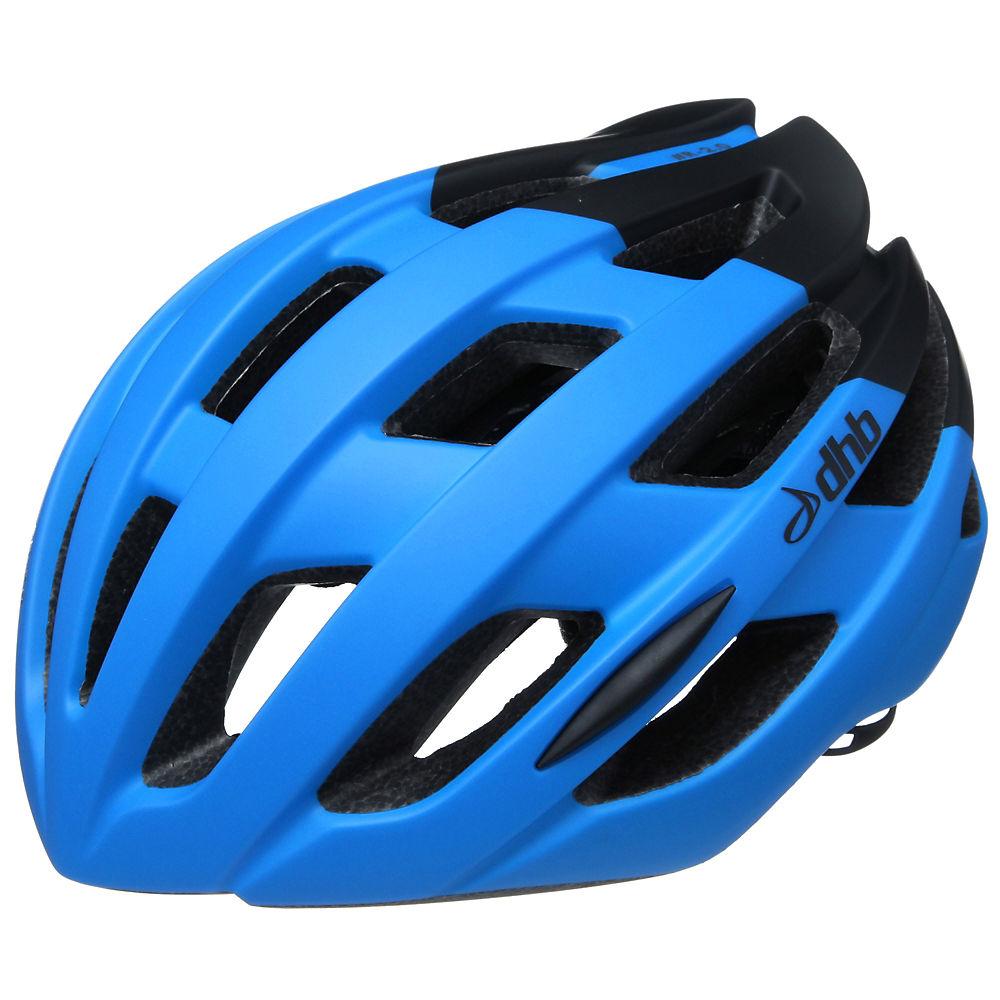 Dhb R2.0 Road Helmet - Blue Black Matte  Blue Black Matte
