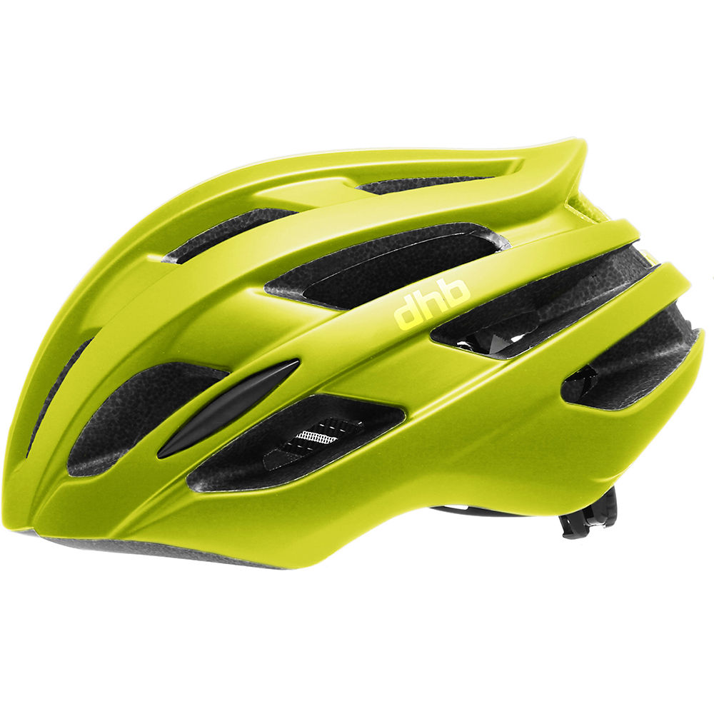 Dhb R2.0 Road Helmet - Fluro Yellow - M/l  Fluro Yellow
