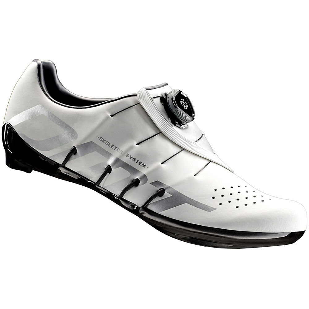 Image of Chaussure route DMT RS1 2018 - White-Silver - EU 47, White-Silver