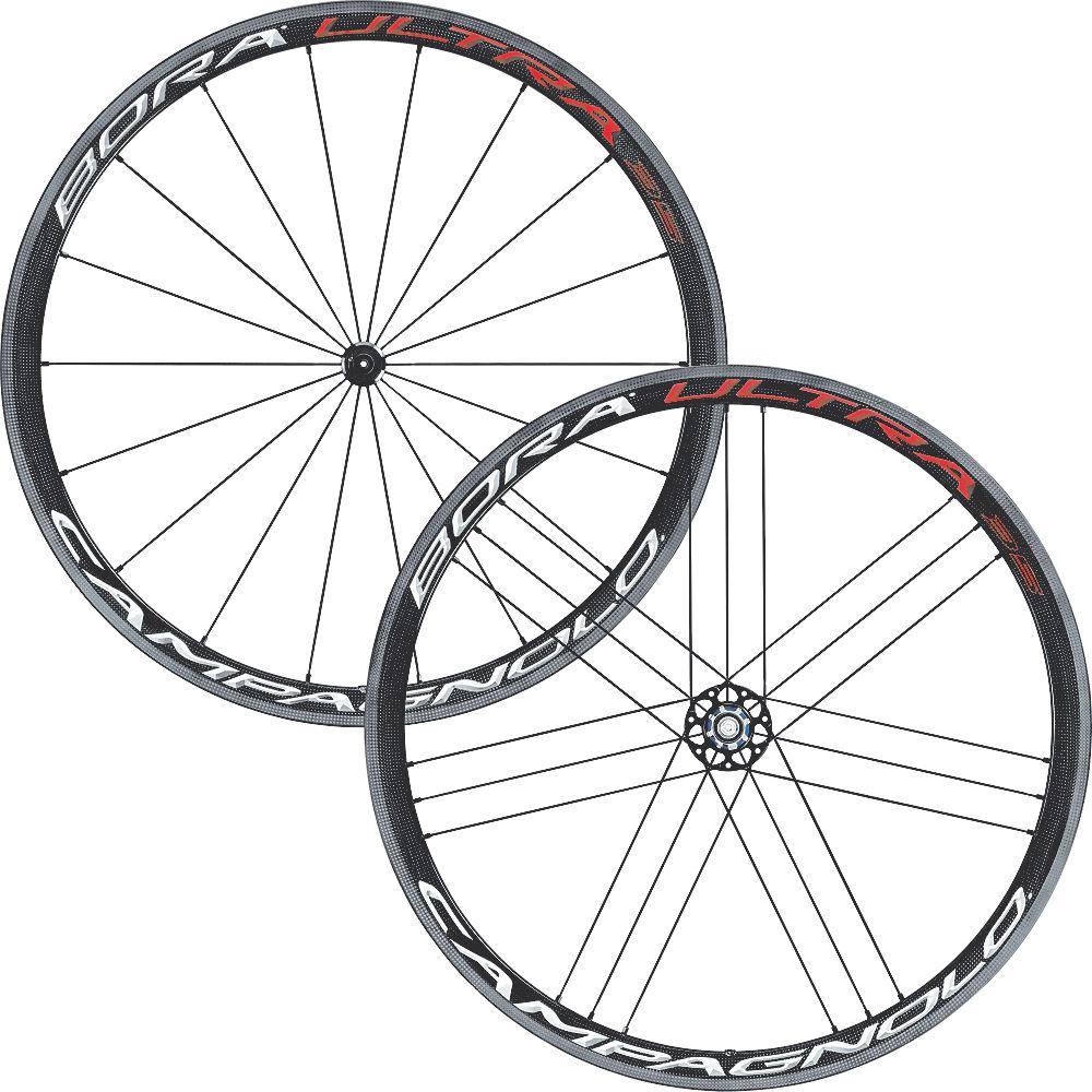 Campagnolo Bora Ultra 35 Tubular Wheelset - Bright Label, Bright Label