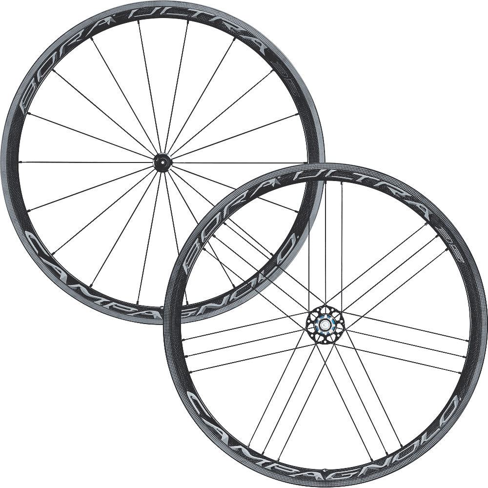 Campagnolo Bora Ultra 35 Tubular Wheelset - Dark Label - Shimano / SRAM, Dark Label