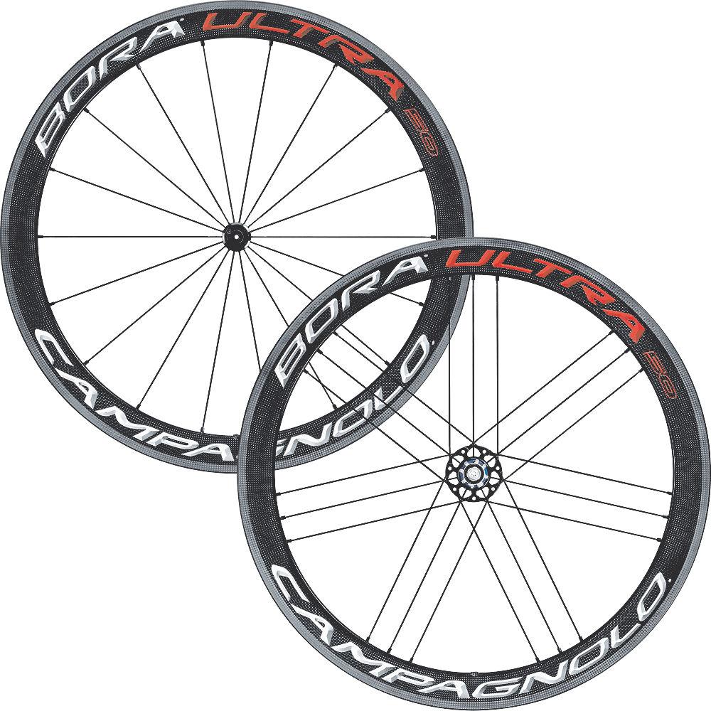 Campagnolo Bora Ultra 50 Tubular Wheelset - Bright Label - Shimano / SRAM, Bright Label