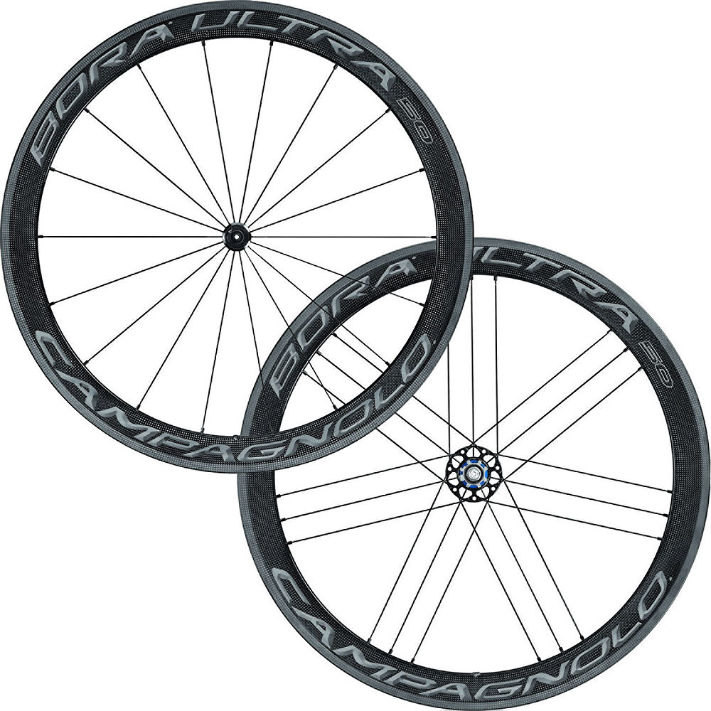 Juego de ruedas tubulares Campagnolo Bora Ultra 50 - Dark Label - Shimano / SRAM, Dark Label
