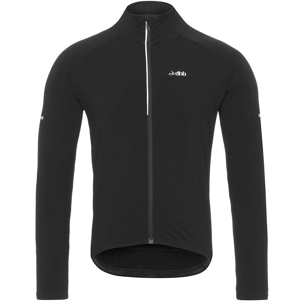Dhb Long Sleeve Thermal Jersey - Black  Black