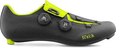 Zapatillas de carretera Fizik R3 Aria - Negro/Amarillo - EU 47, Negro/Amarillo
