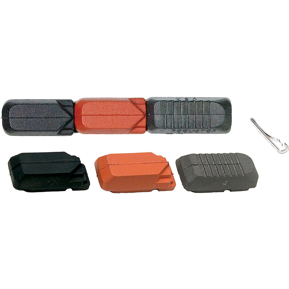 Image of Inserts Kool Stop Tectonic Pair Of Multi Compound - Noir - Rouge - One Size