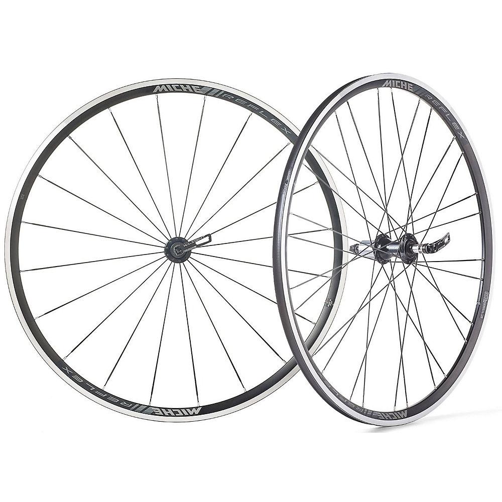 Miche Reflex RX7 Road Wheelset - Black-Black - Shimano / SRAM, Black-Black