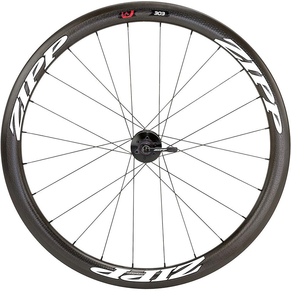 Zipp 303 Firecrest Clincher Disc Rear Wheel 2019 - Black - White - 700c  Black - White