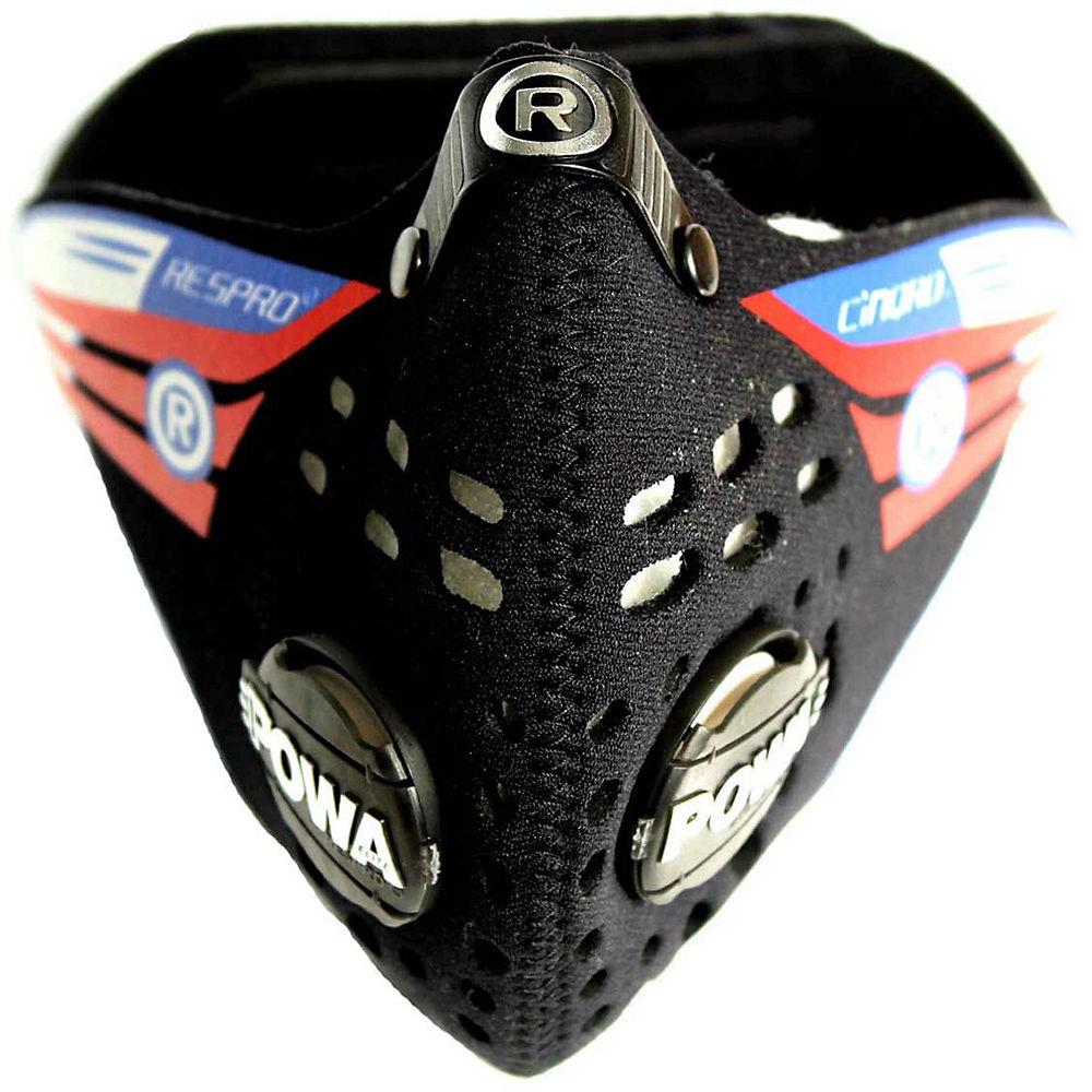 Máscara antipolución Respro Cinqro - Negro, Negro