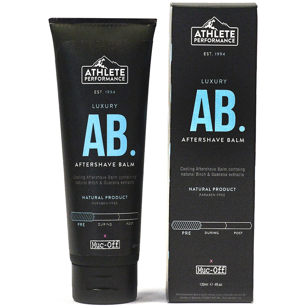 Image of Baume Muc-Off Athlete Performance Aftershave - Noir - Bleu