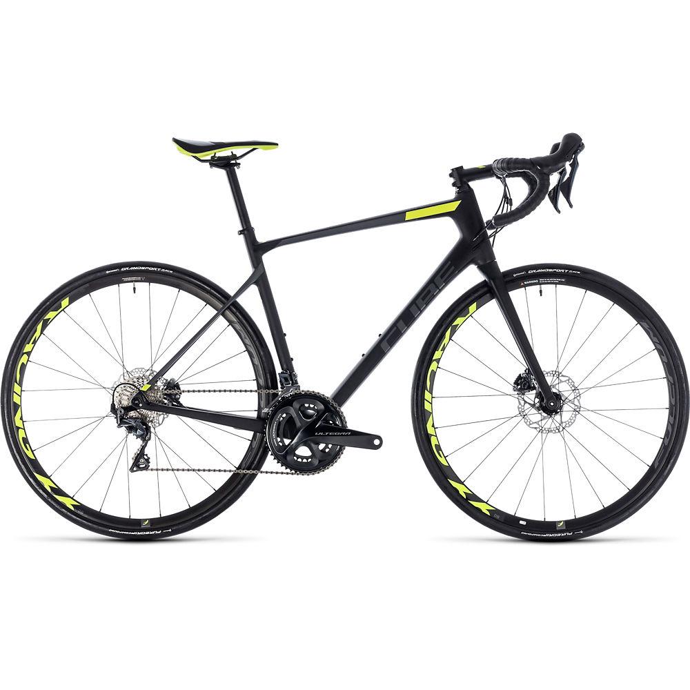 Bicicleta de carretera de disco Cube Attain GTC SLT 2018