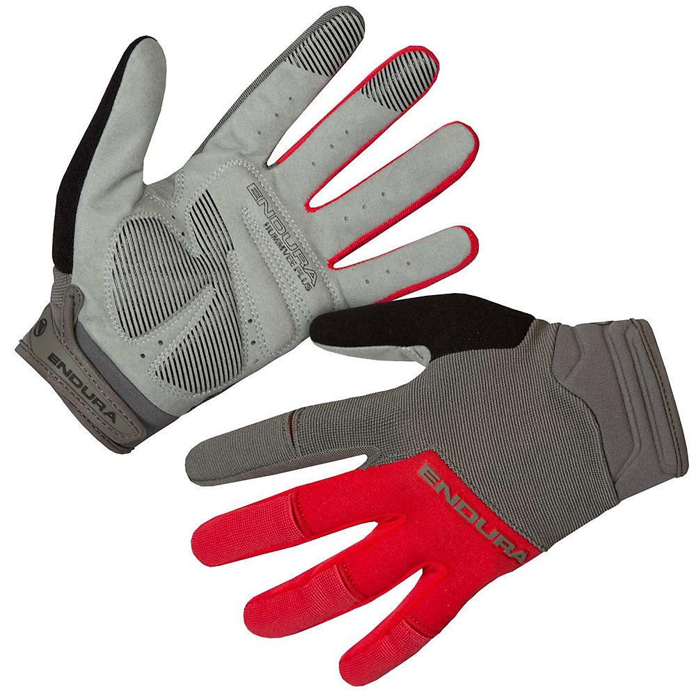 Endura Hummvee Plus Gloves Ii - Red - Xl  Red