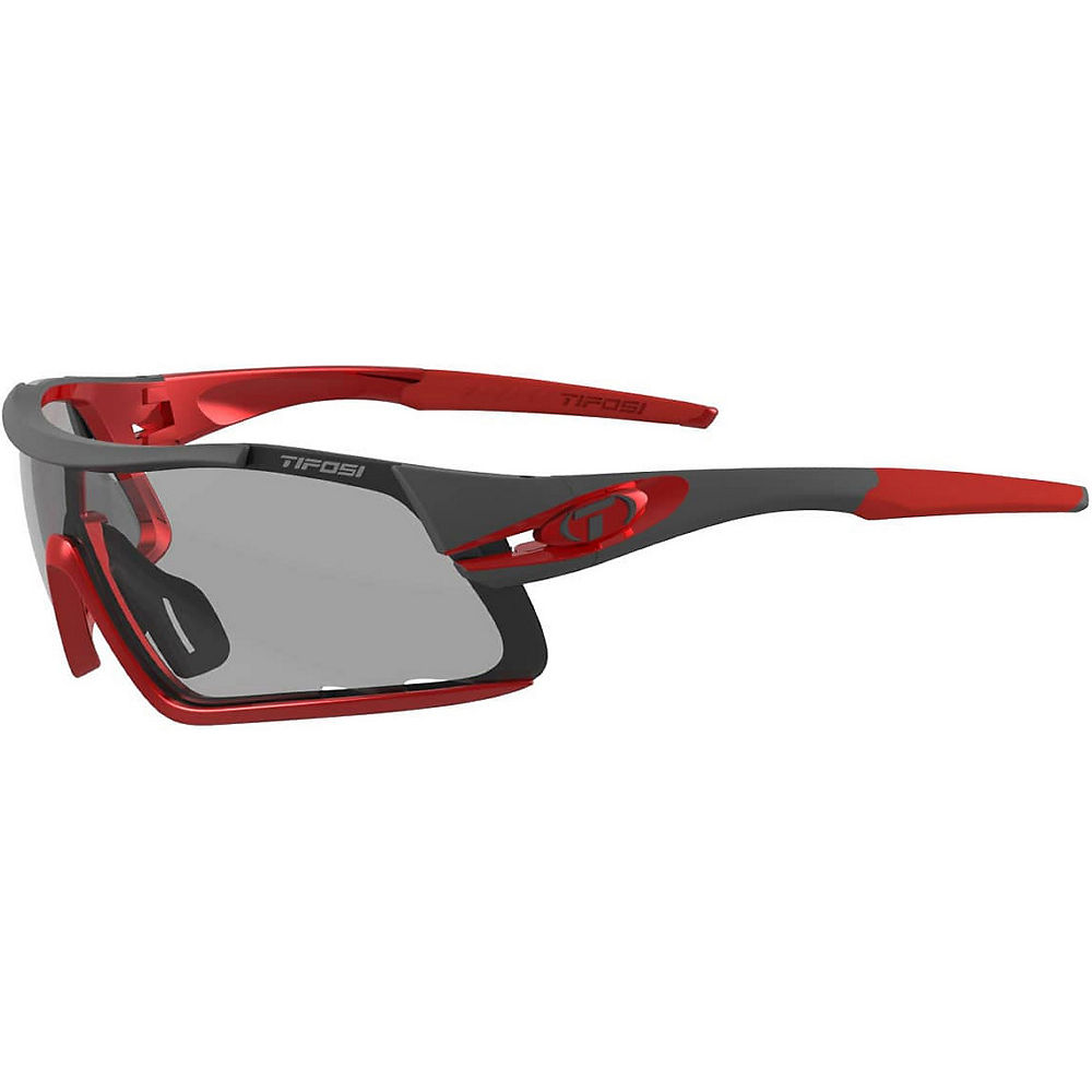Image of Lunettes de soleil Tifosi Eyewear Davos (verre rouge Fototec) 2018 - Race Red, Race Red