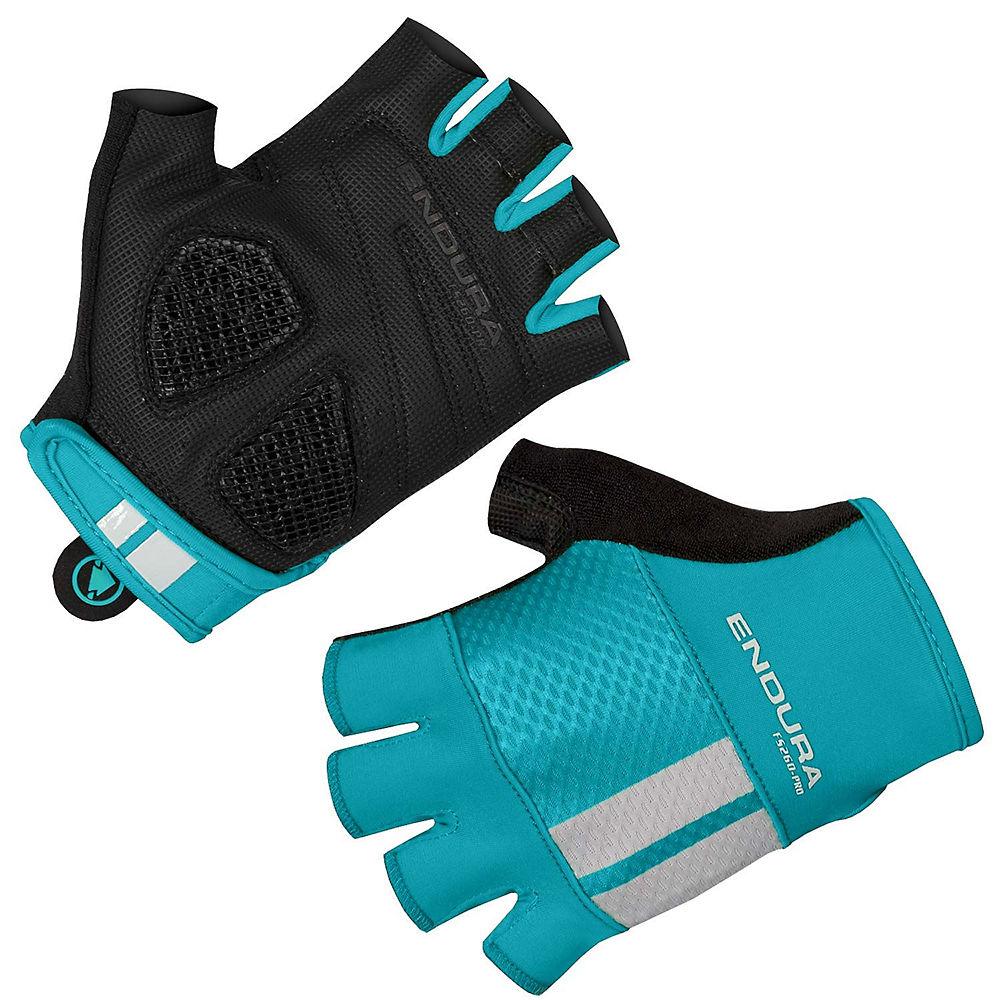 endura women's fs260 pro aerogel mitts - xs - pacific blue