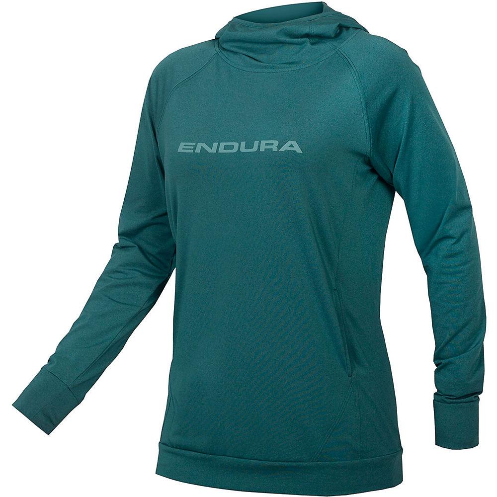 Endura Womens Singletrack Hoodie - Spruce Green - Xl  Spruce Green
