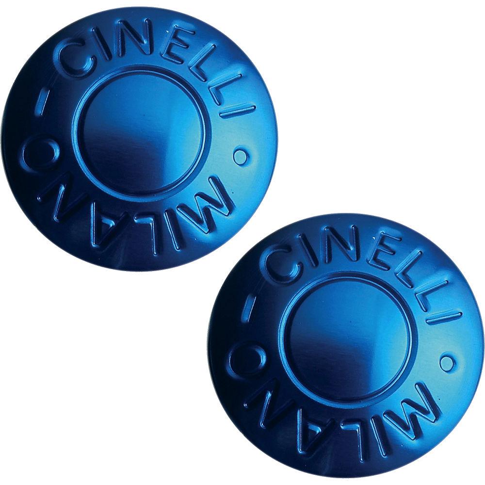 Tapones de manillar de carretera Cinelli Milano - Azul, Azul