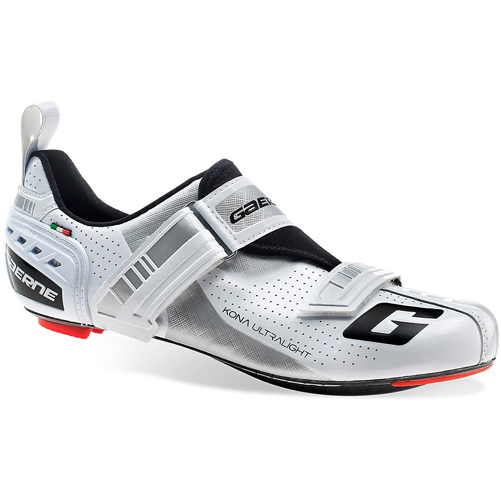 Image of Chaussures triathlon Gaerne Carbon G.Kona 2018 - Blanc - EU 47