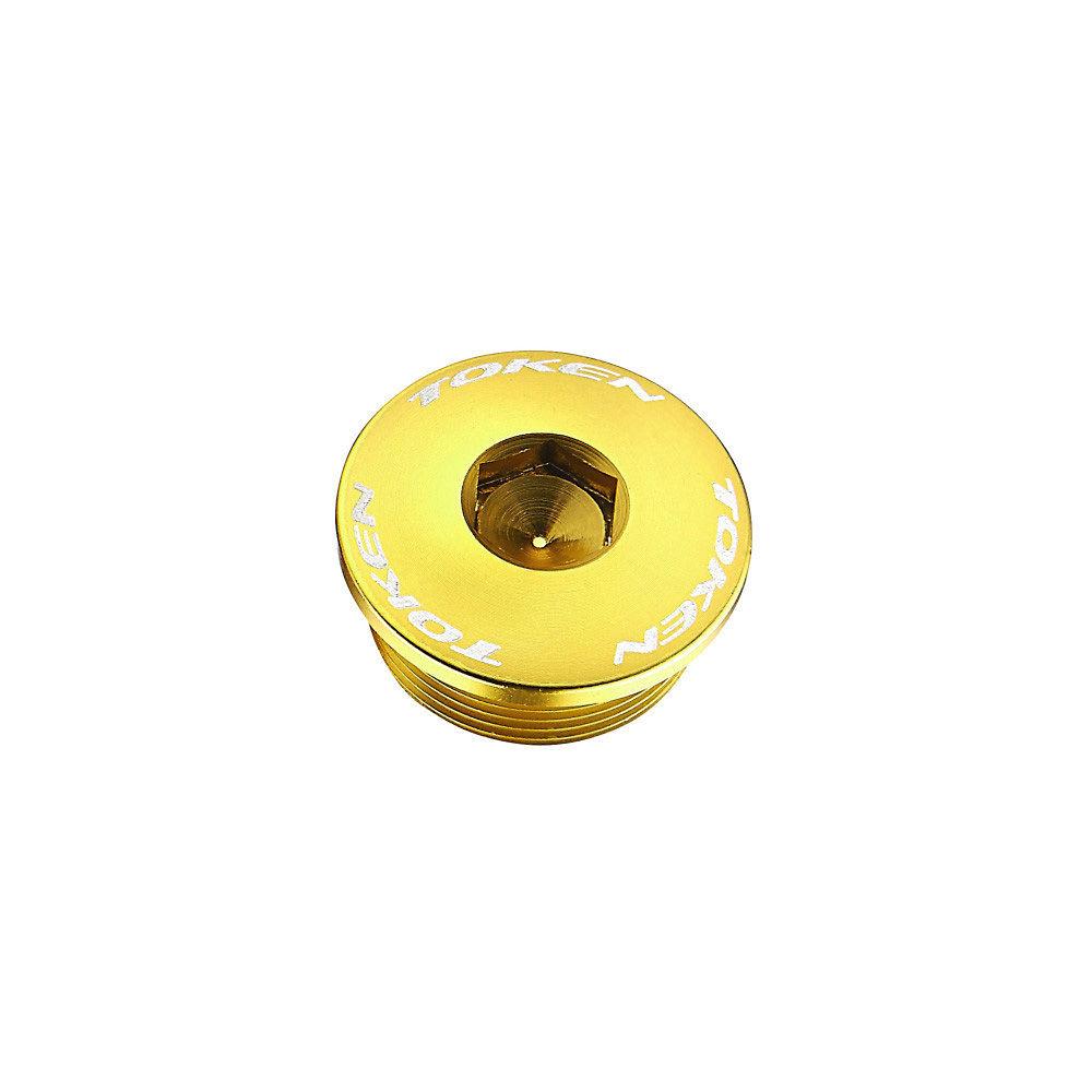 Token TK-B2009 Chainset Hex Bolt (Shimano) - Gold, Gold