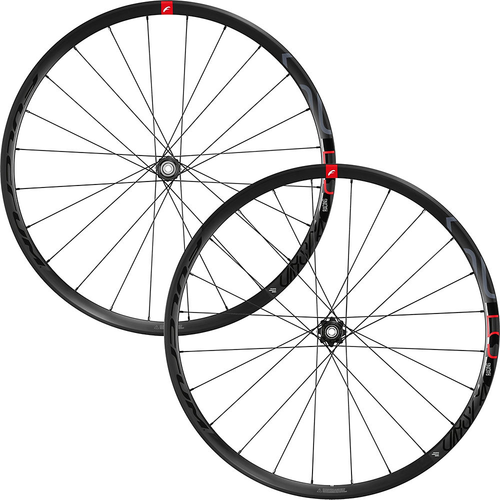 Fulcrum Racing 5 Db Road Disc Wheelset - Black - 700c  Black