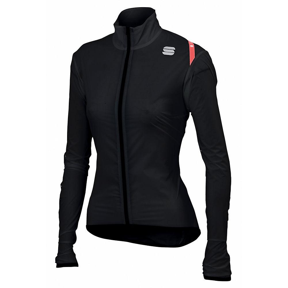 Sportful Womens Hot Pack 6 Jacket - Black - Xl  Black