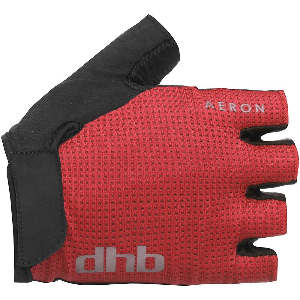 Dhb Aeron Short Finger Gel Gloves - Red  Red
