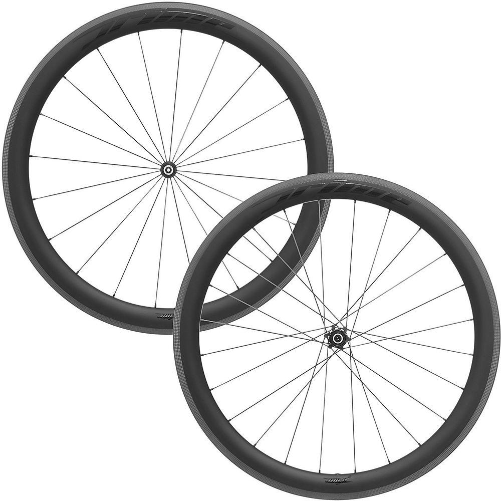 Prime BlackEdition 50 Carbon Tubular Wheelset - Black Logo, Black