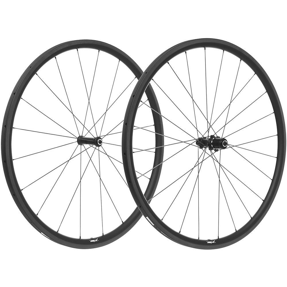 Prime BlackEdition 28 Carbon Tubular Wheelset - Black Logo, Black