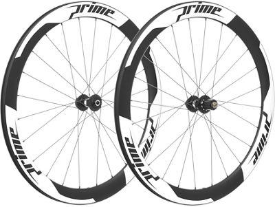 Juego de ruedas Prime RR-50 V2 Carbon Disc (clincher) - Blanco - 700c, Blanco
